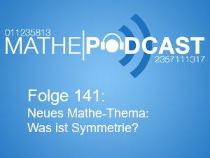 Neues Thema im Mathematikunterricht: Was ist Symmetrie?