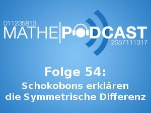 Schokobons erklären die Symmetrische Differenz
