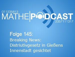 Breaking News: Distributivgesetz in Gießens Innenstadt gesichtet