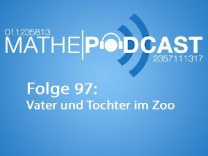 Vater und Tochter im Zoo